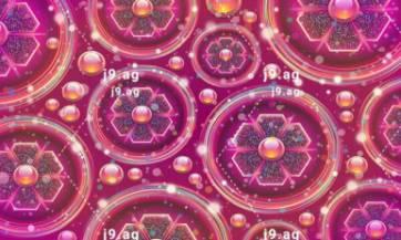 pool palm trees resor tazure sky clouds volume 1920x1080