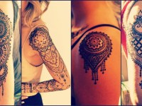 Shoulder-and arms Mehndi