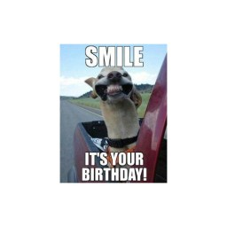 Smile its your birthday