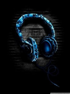 Headphone-wallpaper-for-Android mobile_360x480