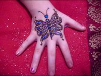 butterfly-mehndi-Arabic design-for-kids