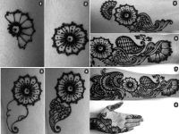 mehndi designs in 8 step easy to apply