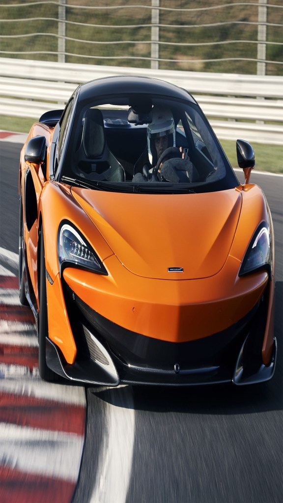 orange car hd full wallpaper for android