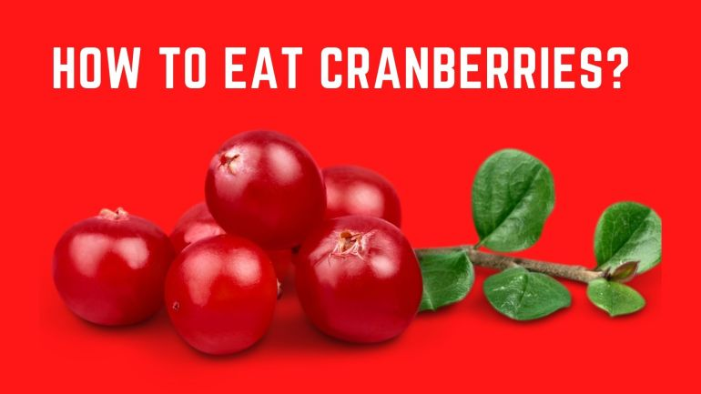 Eat Cranberries
