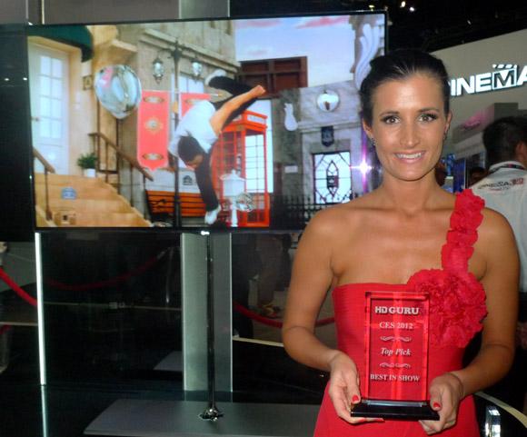 LG OLED award