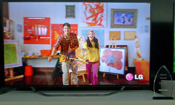 HD GURU 2013 CES Top Pick Award for Best 3D TV -LG's 65-inch UHDTV