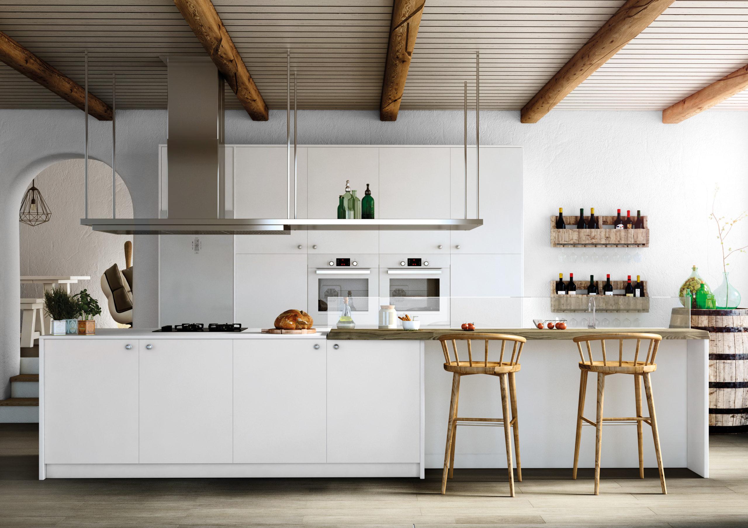 Bianco Zen kitchen
