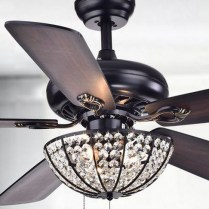44 Bennett 5 Blade Ceiling Fan With Remote, Light Kit Included 2