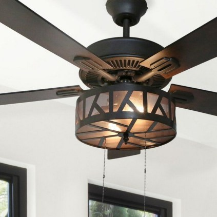 44 Bennett 5 Blade Ceiling Fan With Remote, Light Kit Included 30