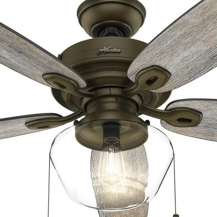 44 Bennett 5 Blade Ceiling Fan With Remote, Light Kit Included 38