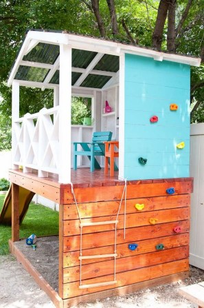 45 Cool And Budget Friendly Projects For A Kid S Play Area #backyardideas Make 31