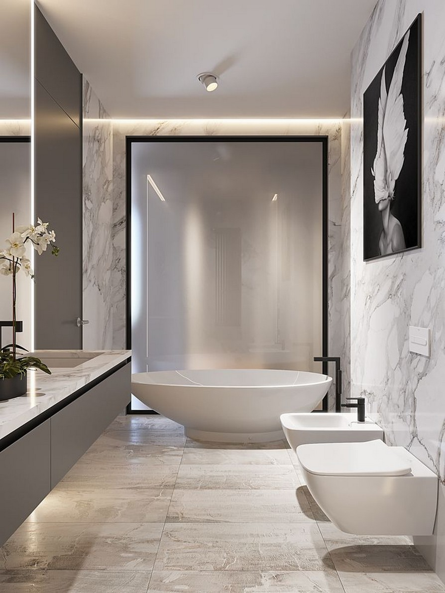 49 Luxury Bathrooms And Tips You Can Copy From Them 12