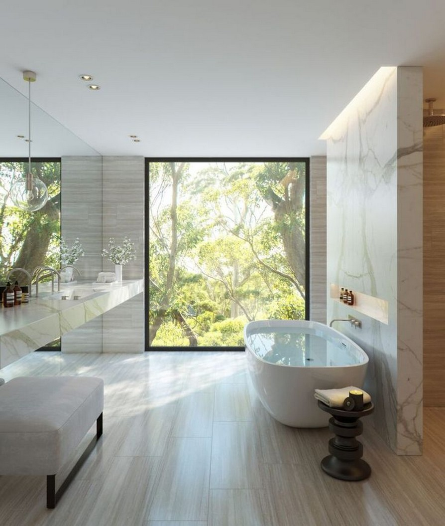 49 Luxury Bathrooms And Tips You Can Copy From Them 17