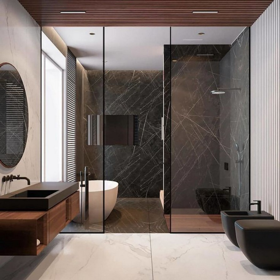 49 Luxury Bathrooms And Tips You Can Copy From Them 46