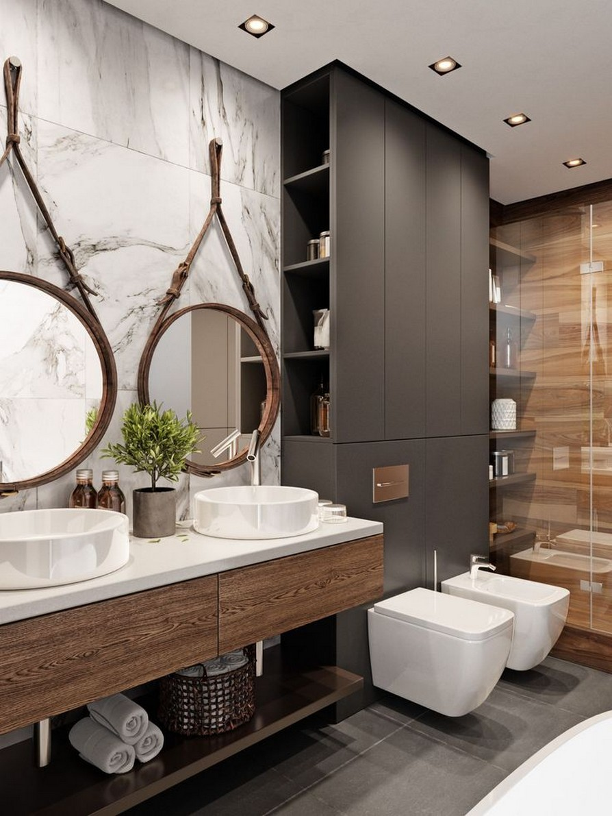 49 Luxury Bathrooms And Tips You Can Copy From Them 6