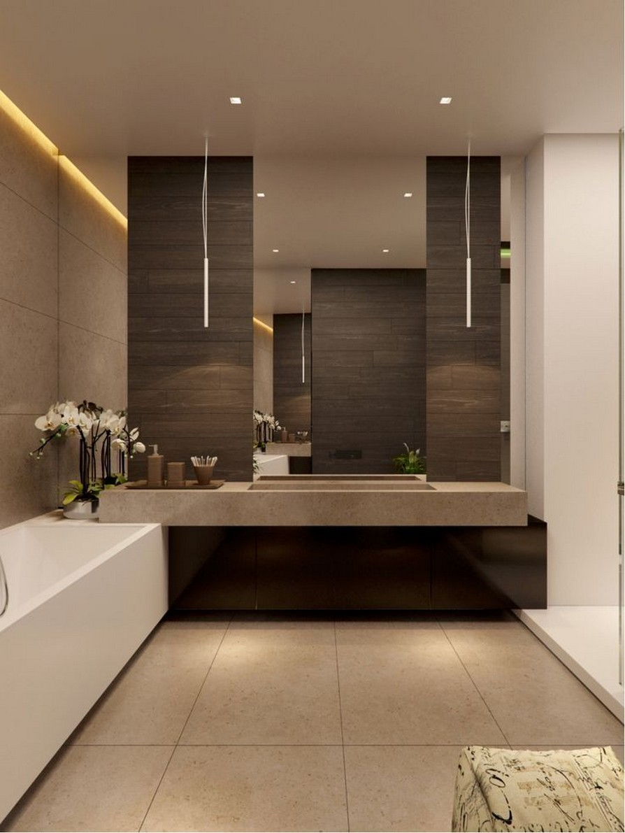 49 Luxury Bathrooms And Tips You Can Copy From Them 8