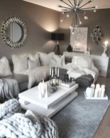 55 Black And Gray Living Room Decorating Ideas 2020 24
