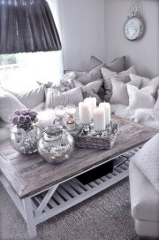 55 Black And Gray Living Room Decorating Ideas 2020 35
