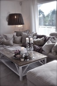 55 Black And Gray Living Room Decorating Ideas 2020 48