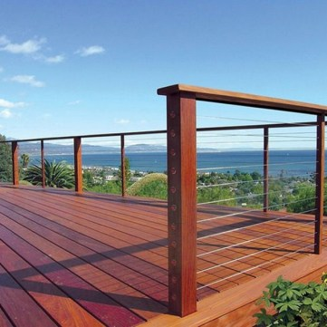 58 Creative Deck Railing Ideas For Inspire What You Want 12