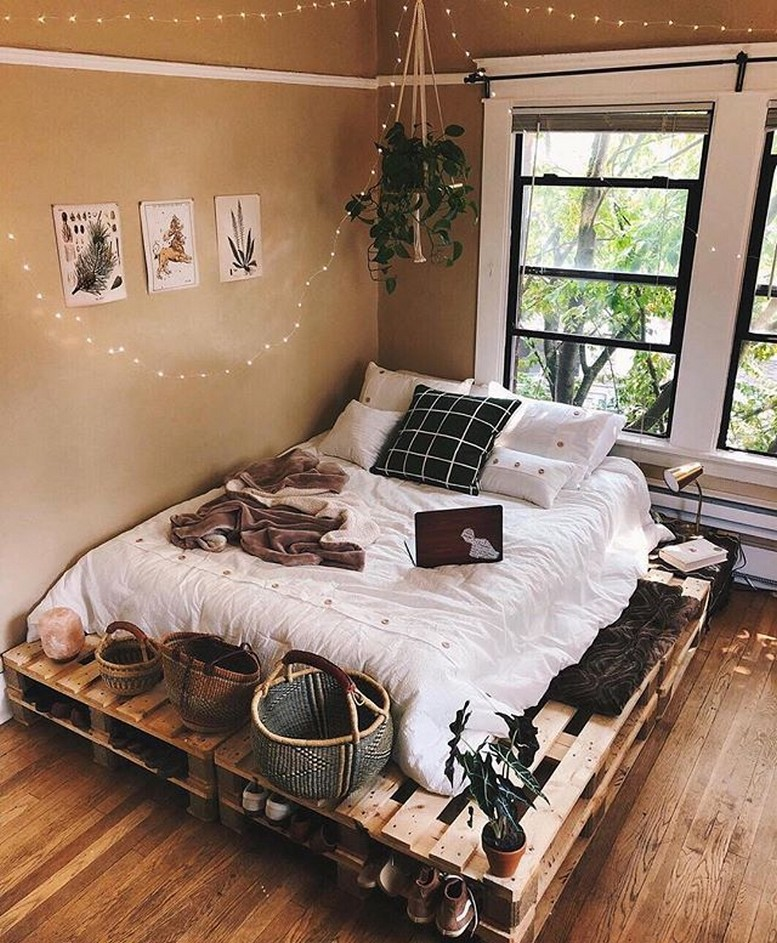 88 Adorable Pallet Bed Ideas You Will Love Crafome 31