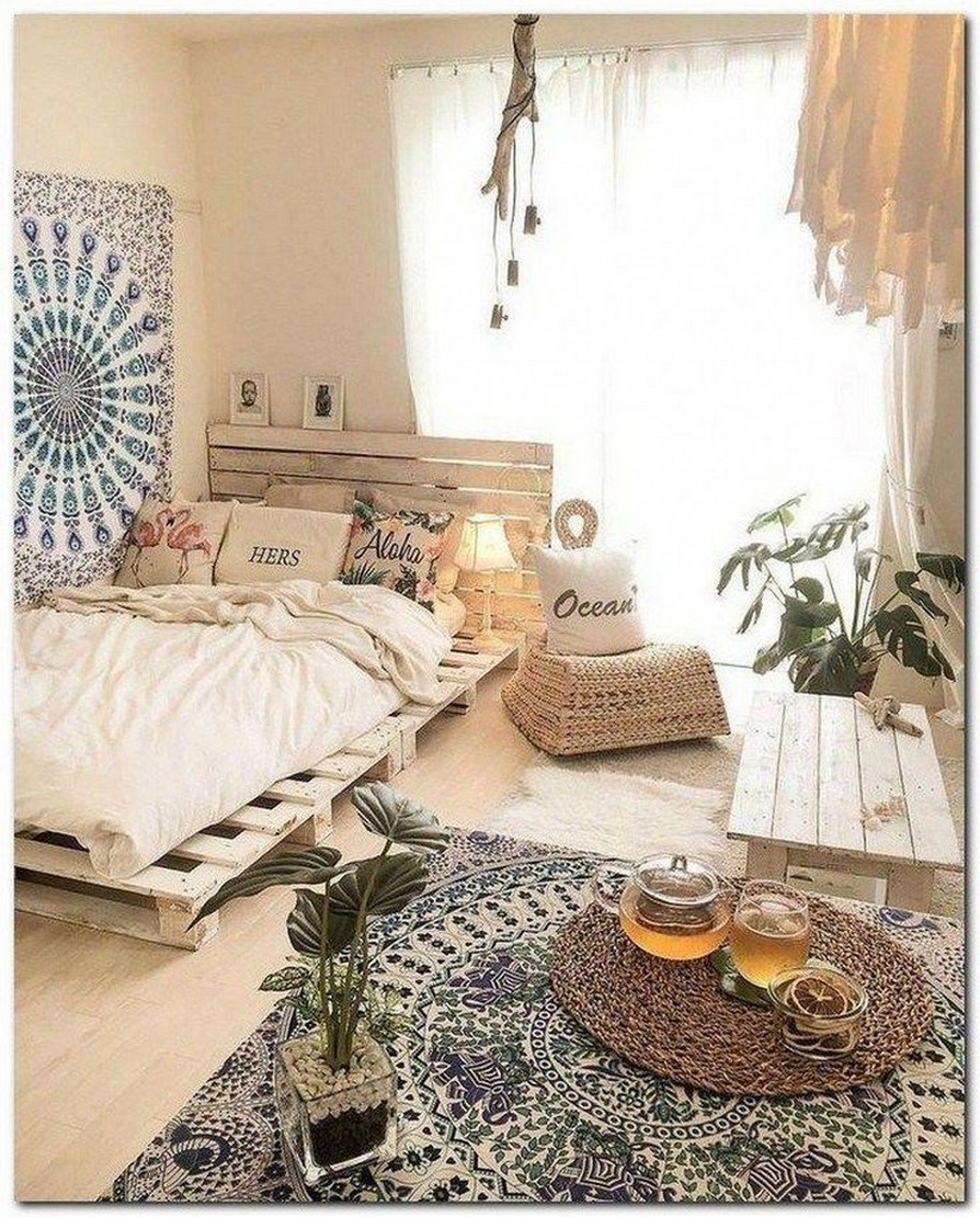 88 Adorable Pallet Bed Ideas You Will Love Crafome 87