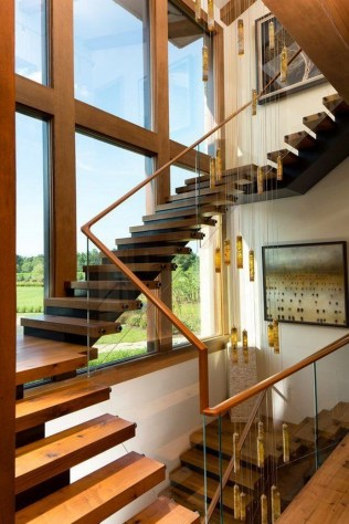 Top 46 Unique Modern Staircase Design Ideas For Your Dream House 44