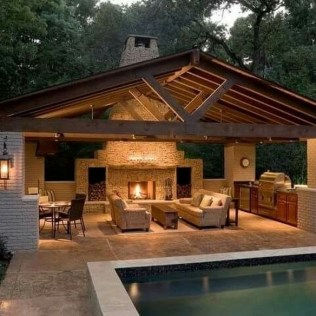 36 Pool House Design Ideas That Make Life Feel Like A Permanent Vacation 33