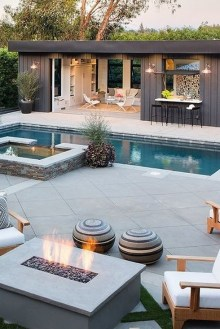36 Pool House Design Ideas That Make Life Feel Like A Permanent Vacation 7
