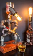 48 Amazing Lamps Selection From DIY Tire Projects 17