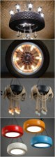 48 Amazing Lamps Selection From DIY Tire Projects 30