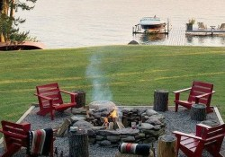 10+ Backyard Fire Pits Ideas Home Decor 4