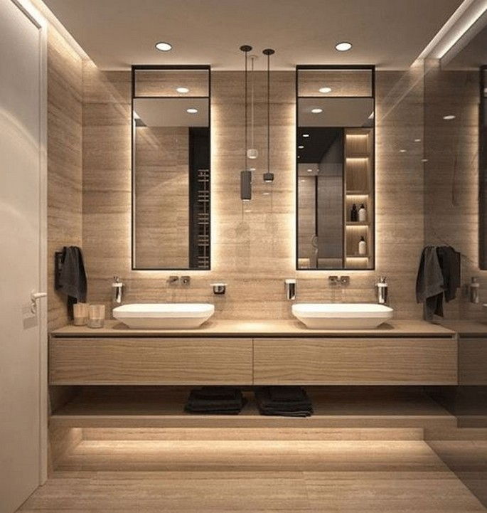 11+ Bathroom Mirrors With Lights Look Extravagant – Home Decor 3