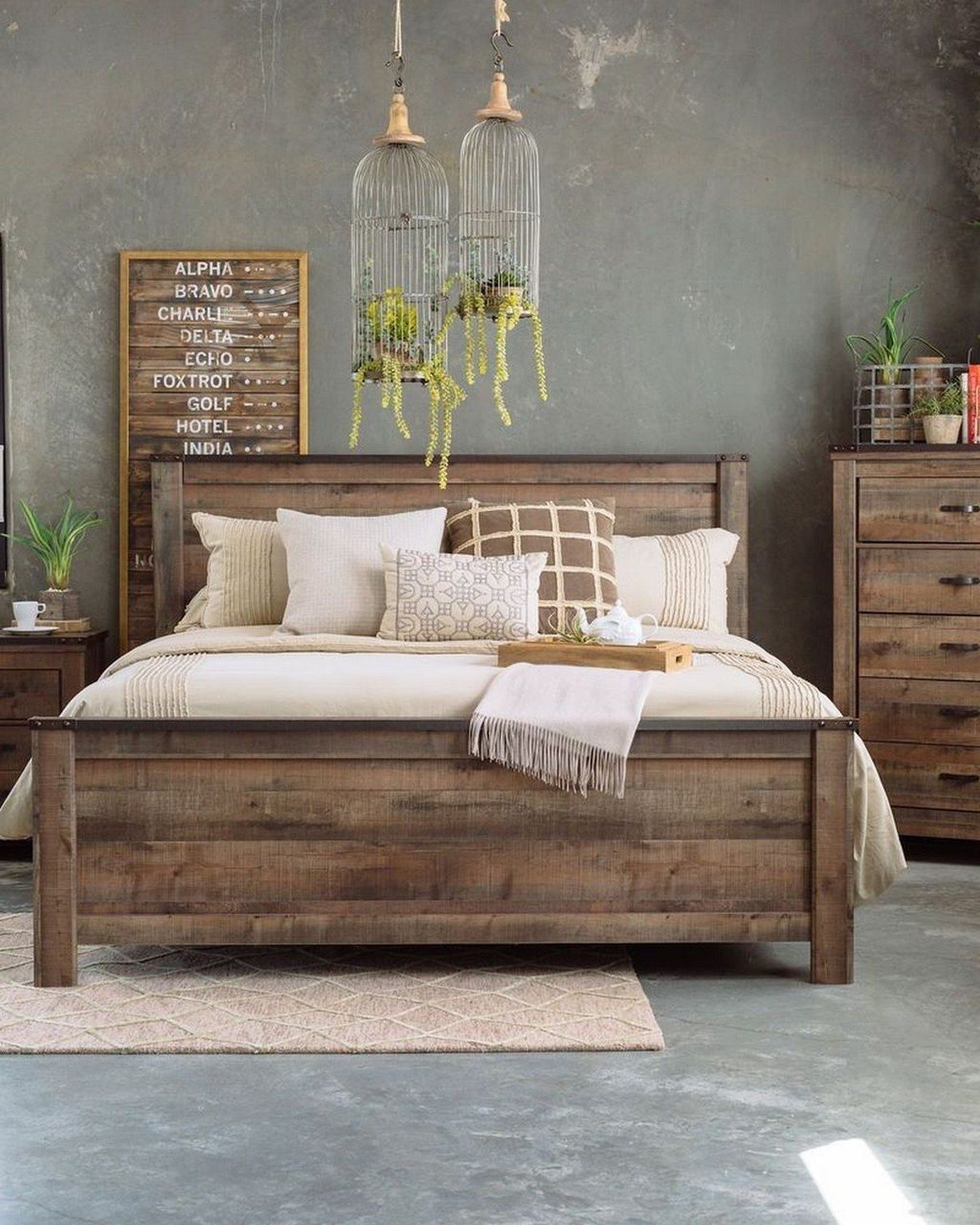64 Rustic Bedroom Furniture How to Look Elegance Home Decor 25