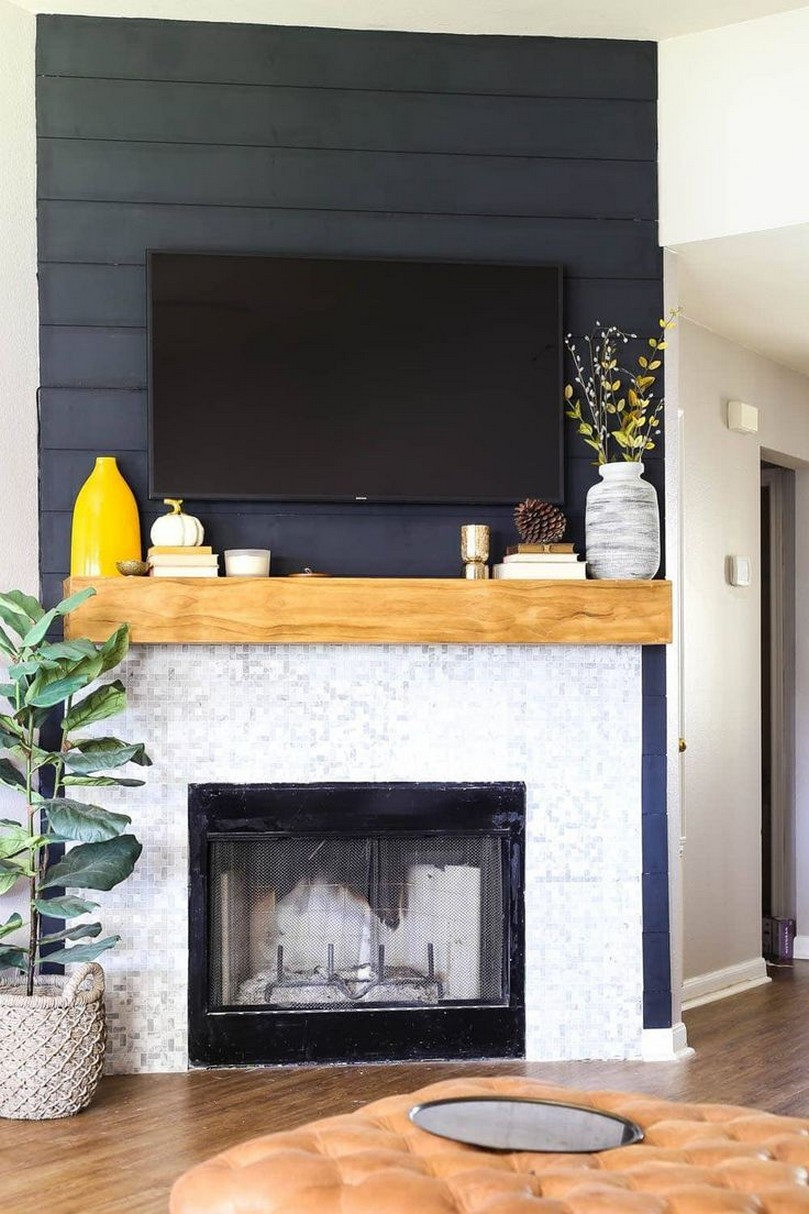 76 Stone Fireplaces The Hearth Is The Heart of The Home 19