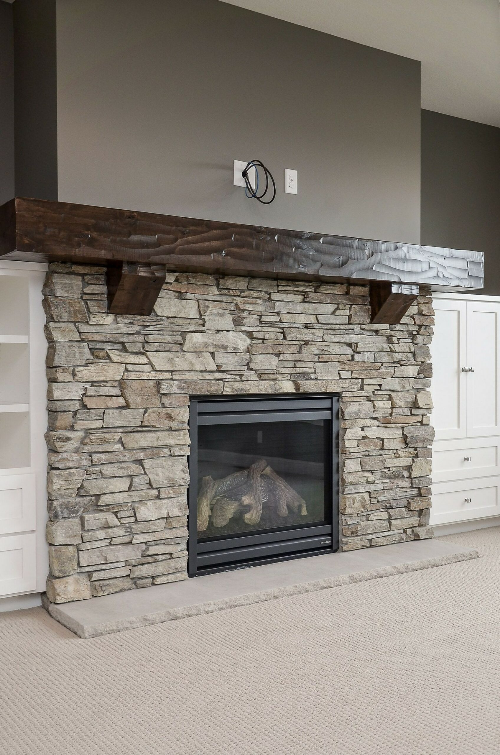 76 Stone Fireplaces The Hearth Is The Heart of The Home 32
