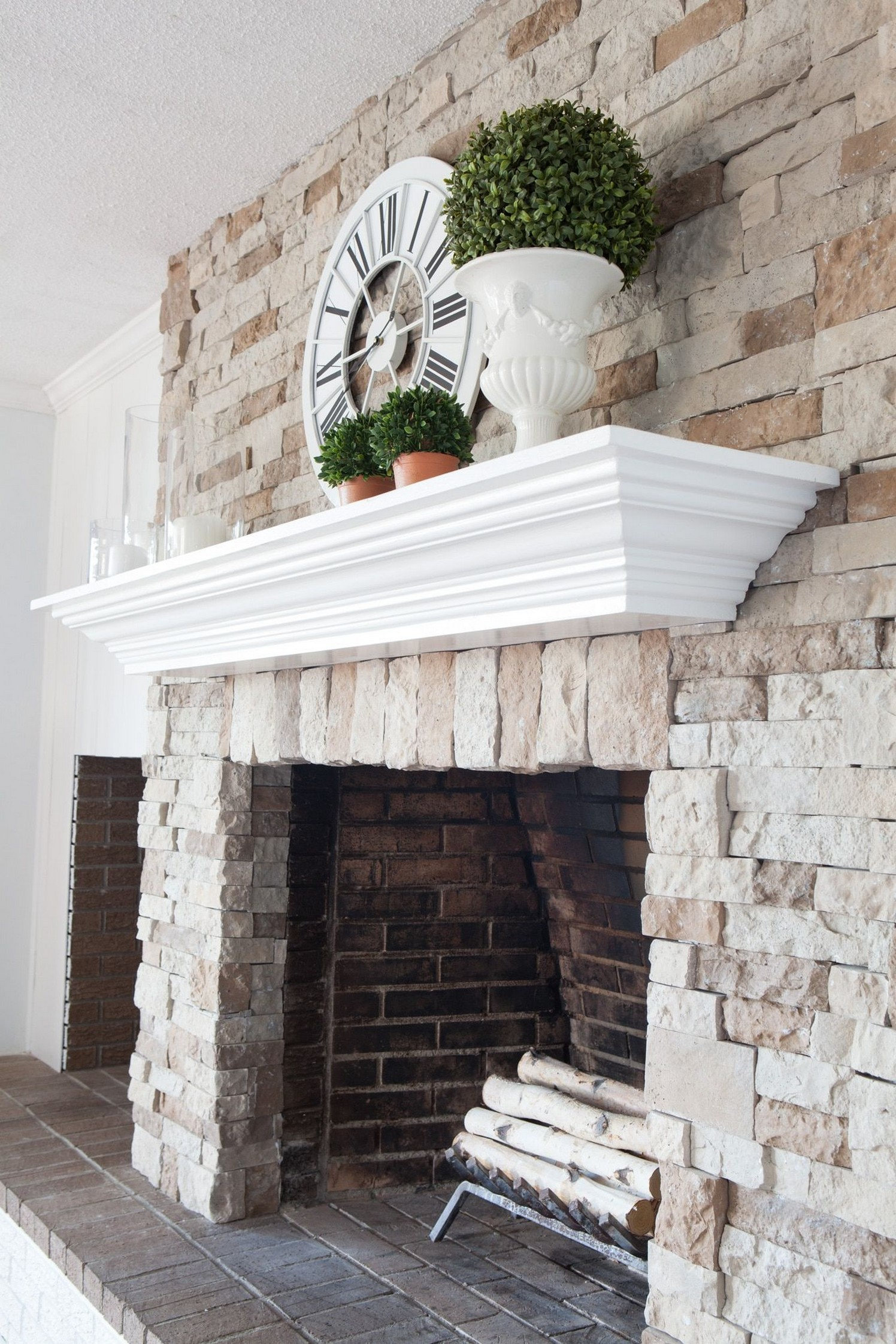 76 Stone Fireplaces The Hearth Is The Heart of The Home 33