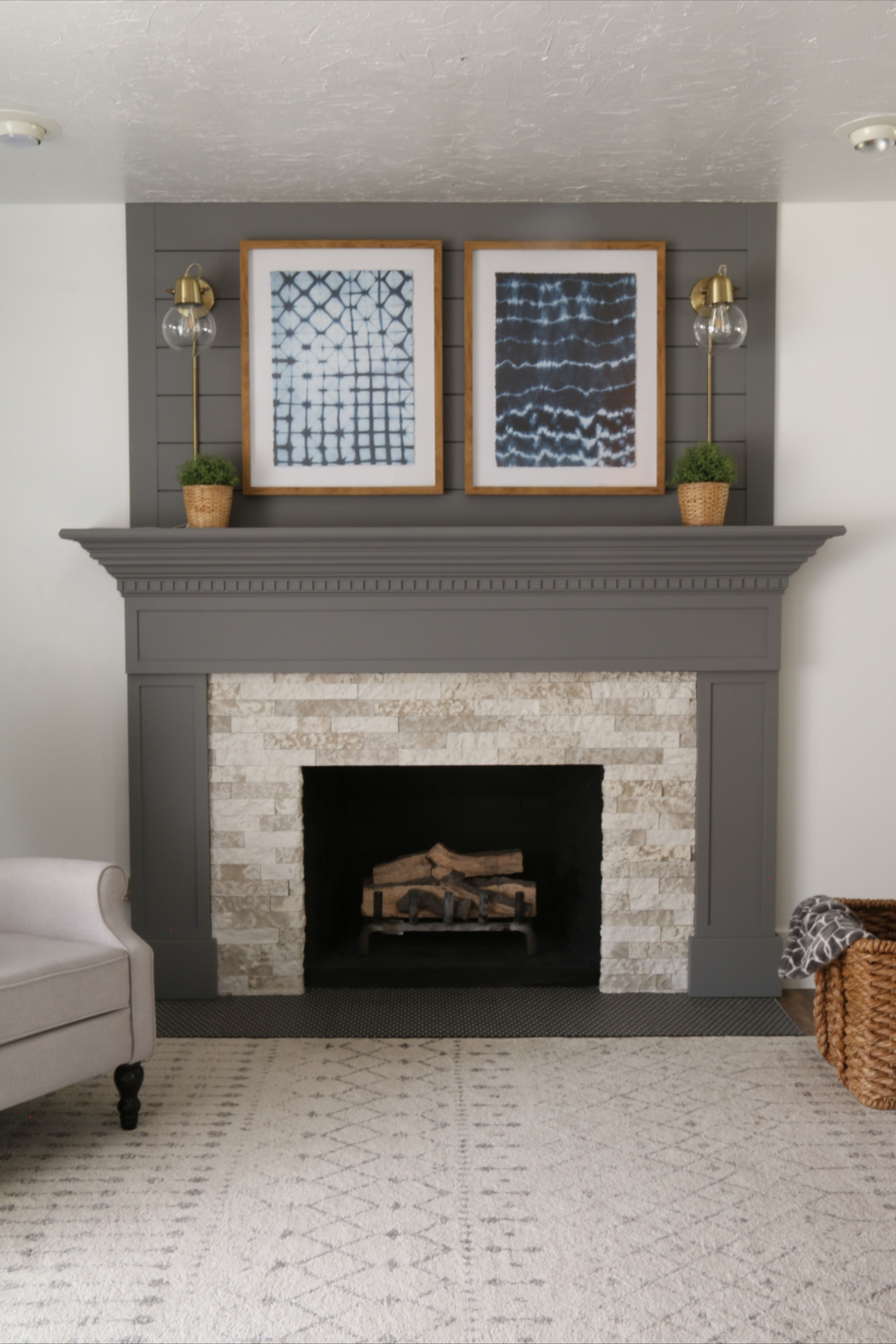 76 Stone Fireplaces The Hearth Is The Heart of The Home 41