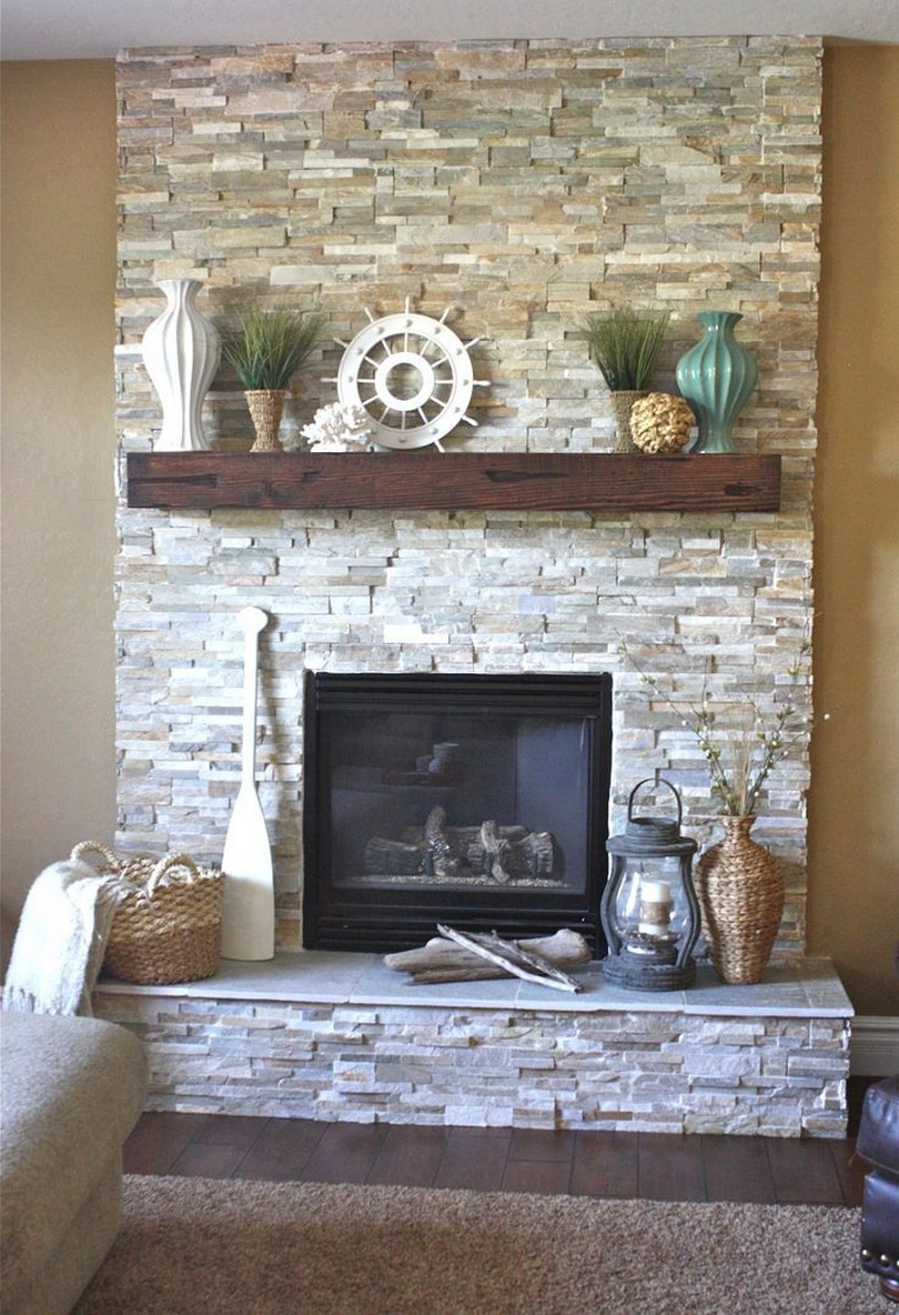 76 Stone Fireplaces The Hearth Is The Heart of The Home 66