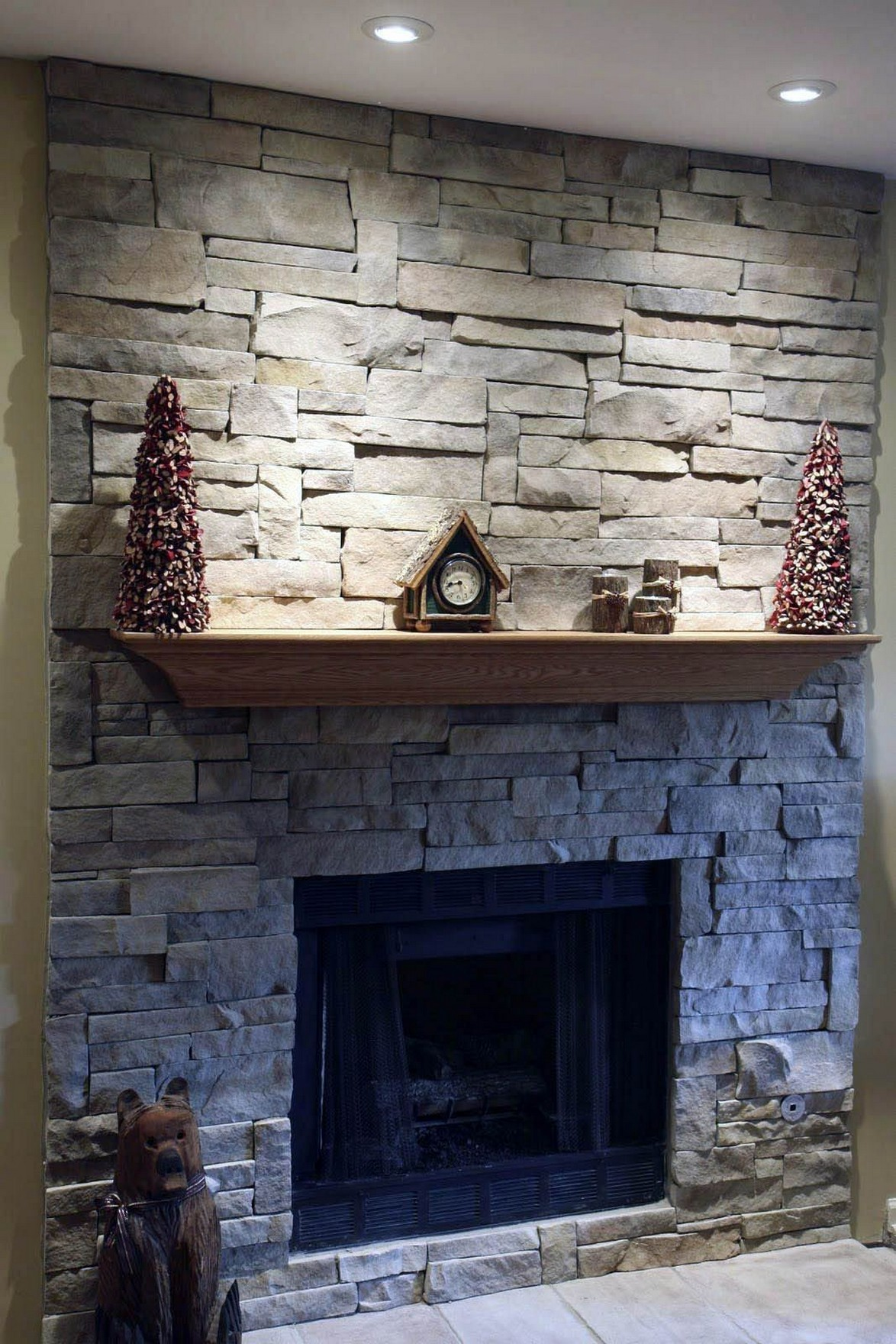 76 Stone Fireplaces The Hearth Is The Heart of The Home 7
