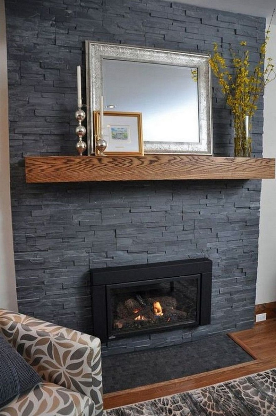 76 Stone Fireplaces The Hearth Is The Heart of The Home 70