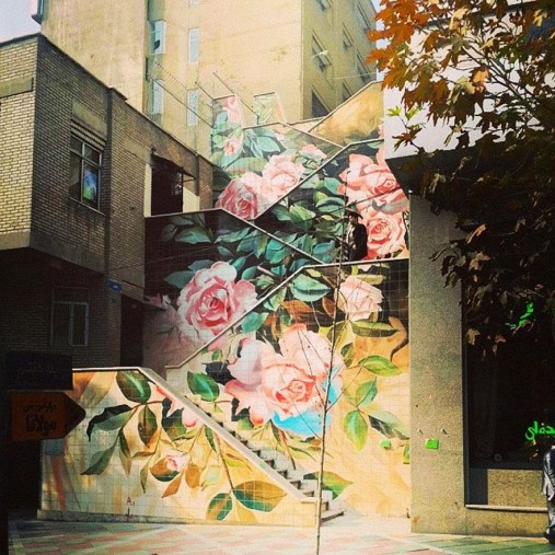 16.-Tehran-Iran-17-Beautifully-Painted-Stairs-From-All-Over-The-World.-7-Is-Insane