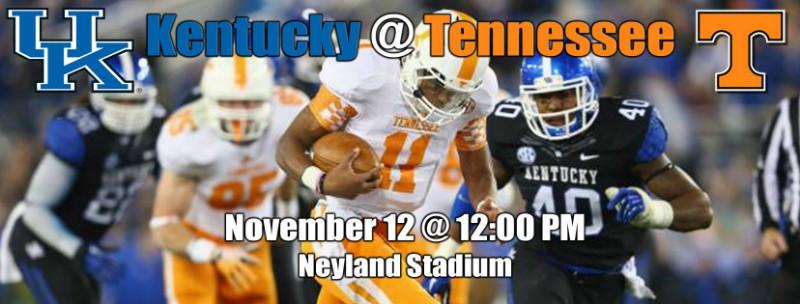 Kentucky Game 2016 | TN Bill's Tennessee Tidbits