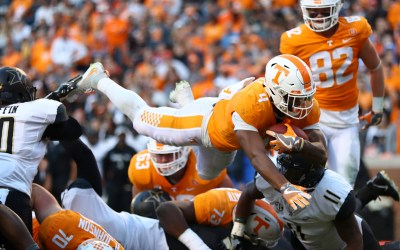 Vols Offense Sputters VS Vandy – Finish Season 4-8