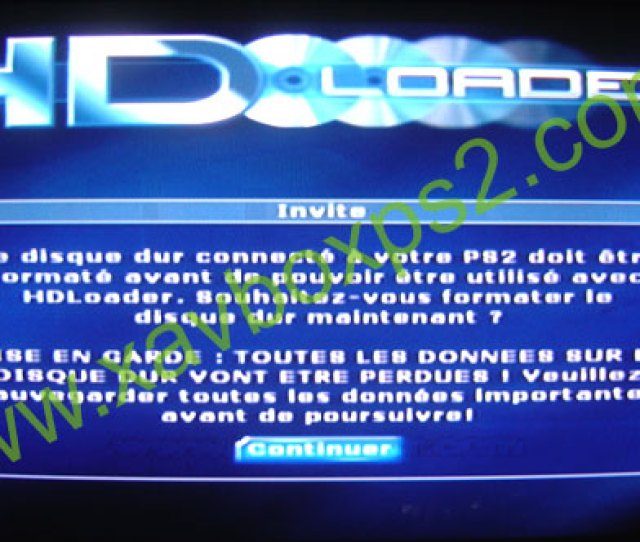 Formatting Of The Hard Disk Ps2