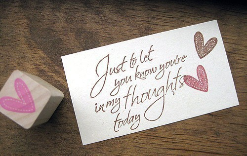 Cute Love Notes 27 Background