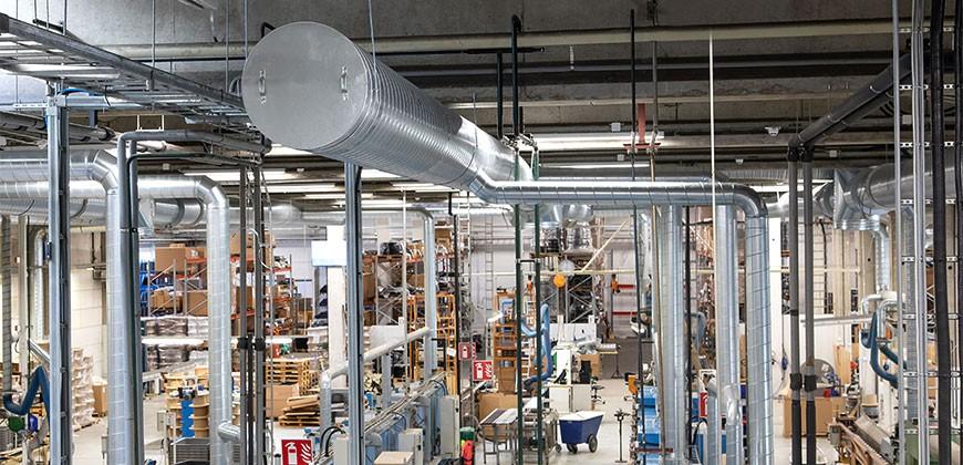 Fabrika Havalandırma Sistemleri