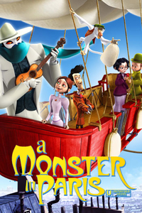 Download A Monster in Paris Full Movie Hindi 480p