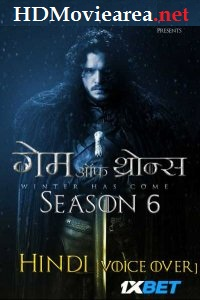 Download Game of Thrones Season 6 in Hindi Dubbed