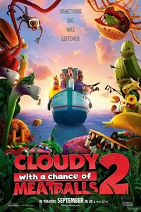 Cloudy with a Chance of Meatballs 2 Full Movie Download in Hindi